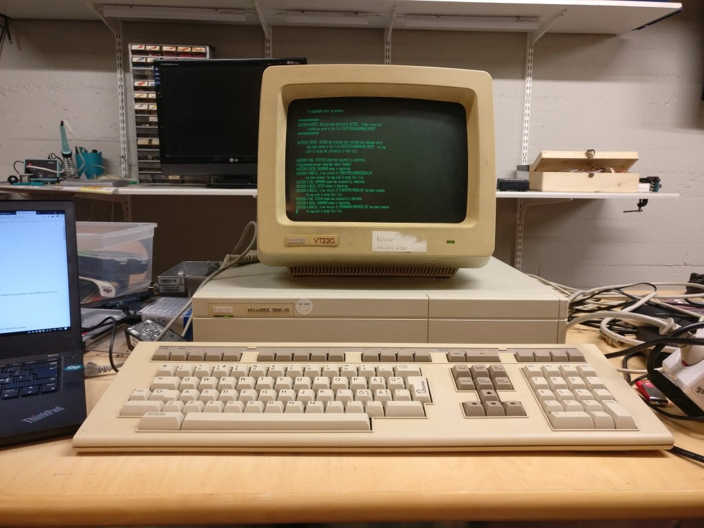Installing OpenVMS on a MicroVAX without CD-ROM, tape or